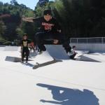 スケートボードスクールにて13