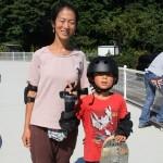 スケートボードスクールにて15