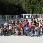 スケートボードスクールにて22