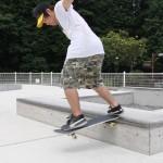 スケートボード場にて28
