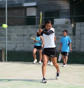 四国中学女子チャンピオン 北本さん