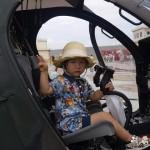 ヘリコプター体験搭乗3