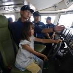 巡視船体験航海2