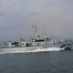 巡視船体験航海1