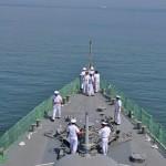 護衛艦「せんだい」体験航海1