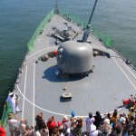護衛艦「せんだい」体験航海2