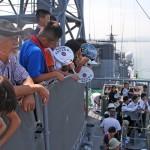 護衛艦「せんだい」体験航海3