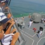 護衛艦「せんだい」体験航海4