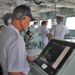 護衛艦「せんだい」体験航海5