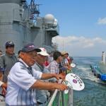 護衛艦「せんだい」体験航海7