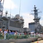 護衛艦「せんだい」体験航海8