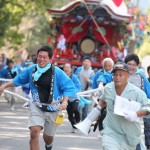 大里八幡神社秋祭り1